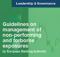 Guidelines on management of non-performing and forborne exposures