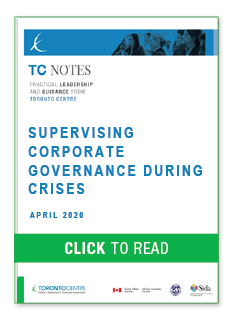 Supervising Corporate Governance During Crises
