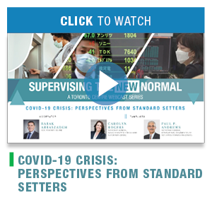 COVID-19 Crisis: Perspectives from Standard Setters
