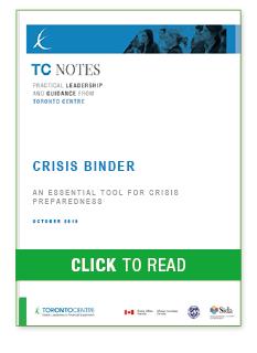 Crisis Binder