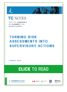 Turning Risk Assessments Into Supervisory Actions