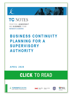 Business Continuity Planning for a Supervisory Authority