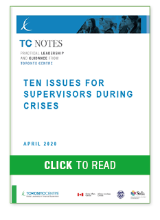 Ten Issues for Supervisors During Crises