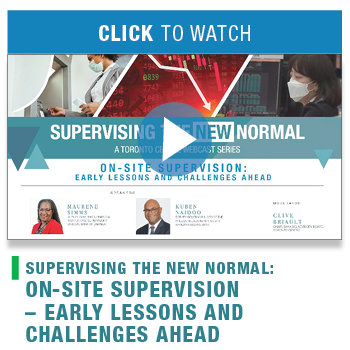 Supervising the New Normal: Early Lessons and Challenges Ahead