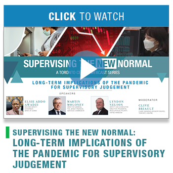 Supervising the New Normal: Long-term implications of the pandemic for supervisory judgement
